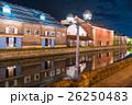 小樽運河の夜景 26250483