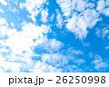 空 雲 雲片の写真 26250998