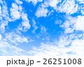 空 雲 雲片の写真 26251008