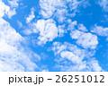 空 雲 雲片の写真 26251012