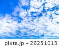 空 雲 雲片の写真 26251013