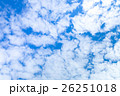 空 雲 雲片の写真 26251018