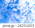 空 雲 雲片の写真 26251023