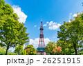 テレビ塔 ランドマーク 大通公園の写真 26251915