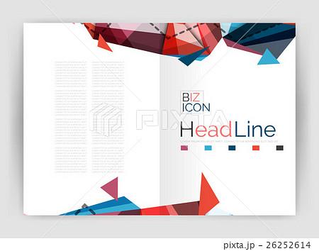 Business triangle design modern business annualのイラスト素材 [26252614] - PIXTA