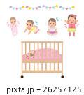 赤ちゃん 女の子 人物のイラスト 26257125