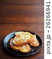 バケットパンでフレンチトースト(粉砂糖と蜂蜜がけ) 26266941
