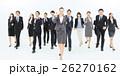 大人数 ビジネスマン ビジネスウーマンの写真 26270162