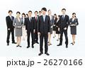 大人数 ビジネスマン ビジネスウーマンの写真 26270166