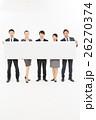 ビジネスマン ビジネスウーマン チームの写真 26270374