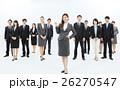 大人数 ビジネスマン ビジネスウーマンの写真 26270547