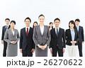 ビジネスマン ビジネスウーマン 仲間の写真 26270622