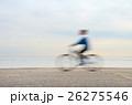 Bicyclist, motion blur 26275546