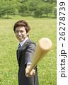 バットを持つビジネスマン 26278739