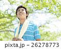 タオルを持った日本人男性 26278773