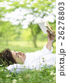 本を読む日本人男性 26278803
