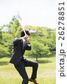 野球のバットを持つビジネスマン 26278851