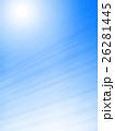 青空に輝く太陽 26281445
