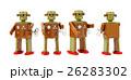 レトロなブリキのロボット/クリッピングパス付き 26283302