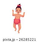 女児 かわいい キュートのイラスト 26285221