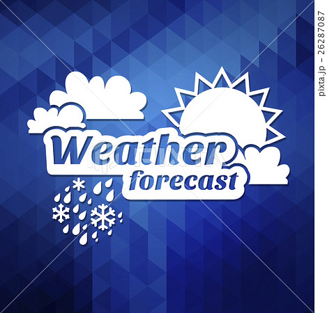 weather forecast vector illustration 26287087