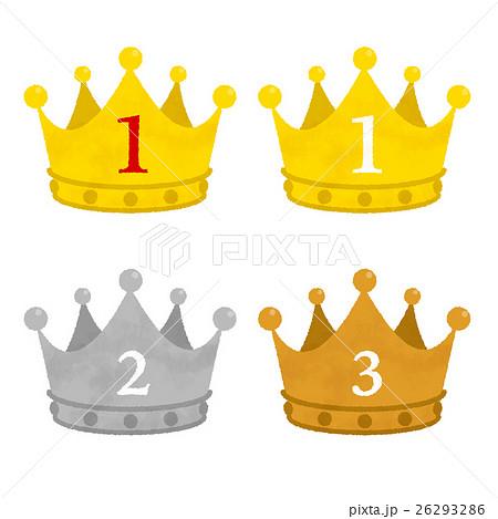 ランキング 王冠のイラスト素材 26293286 Pixta