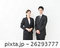 人物 男女 スーツの写真 26293777