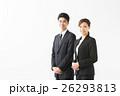 人物 男女 スーツの写真 26293813