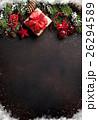 クリスマス プレゼント ギフトボックスの写真 26294589