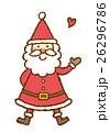 サンタクロース サンタ クリスマスのイラスト 26296786