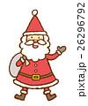 サンタクロース サンタ クリスマスのイラスト 26296792