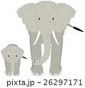 象の親子 26297171