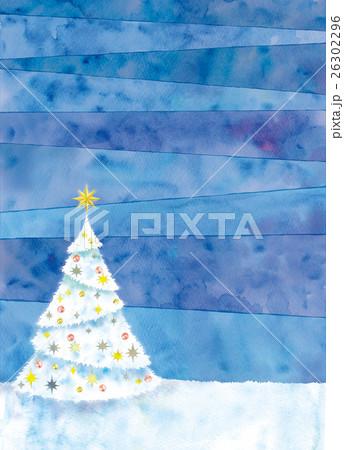クリスマスツリーのイラスト 26302296