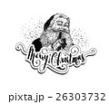 Vintage Santa Claus Christmas illustration 26303732