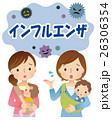 インフルエンザ予防 あかちゃんとママ 26306354