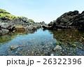 無人島 大島 岩場の写真 26322396