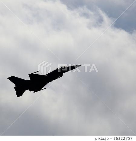 F-2ジェット戦闘機のシルエット 26322757