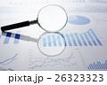 グラフ データ ビジネスの写真 26323323