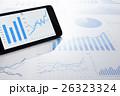 グラフ データ ビジネスの写真 26323324