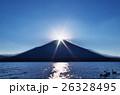 ダイヤモンド富士(山中湖) 26328495