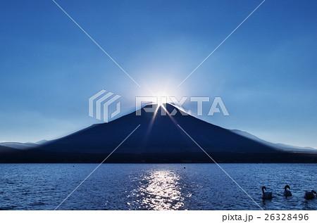 ダイヤモンド富士(山中湖) 26328496