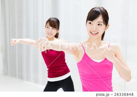 女性エクササイズイメージ 26336848