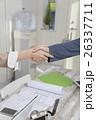 握手 手 ボディーパーツの写真 26337711