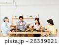食事 食卓 家族の写真 26339621