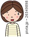 人物 表情 驚くのイラスト 26349898