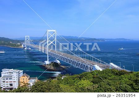 大鳴門橋と鳴門海峡 26351954