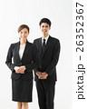人物 男女 スーツの写真 26352367