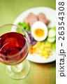 赤ワインとオードブル 26354308
