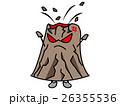 火山のイラスト(擬人化・デフォルメ) 26355536