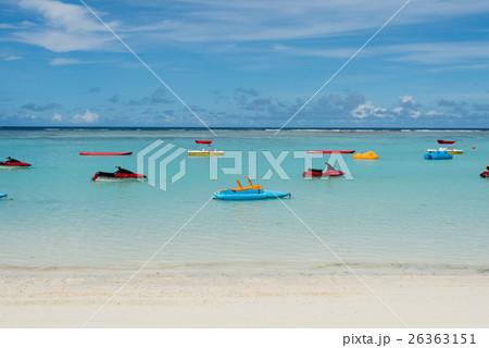グアム タモン湾のマリンスポーツ用具 26363151